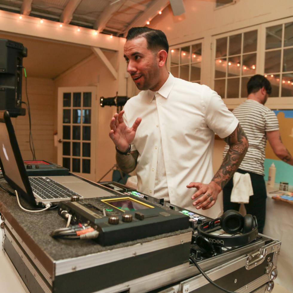 CultureMap Social: The Art Edition at Palm Door DJ uLOVEi Miguel Angel