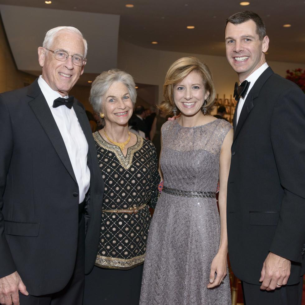 Symphony Wine Dinner, April 2016, Dr. John Mendelsohn, Anne Mendelsohn, Christina Hanson, Mark Hanson