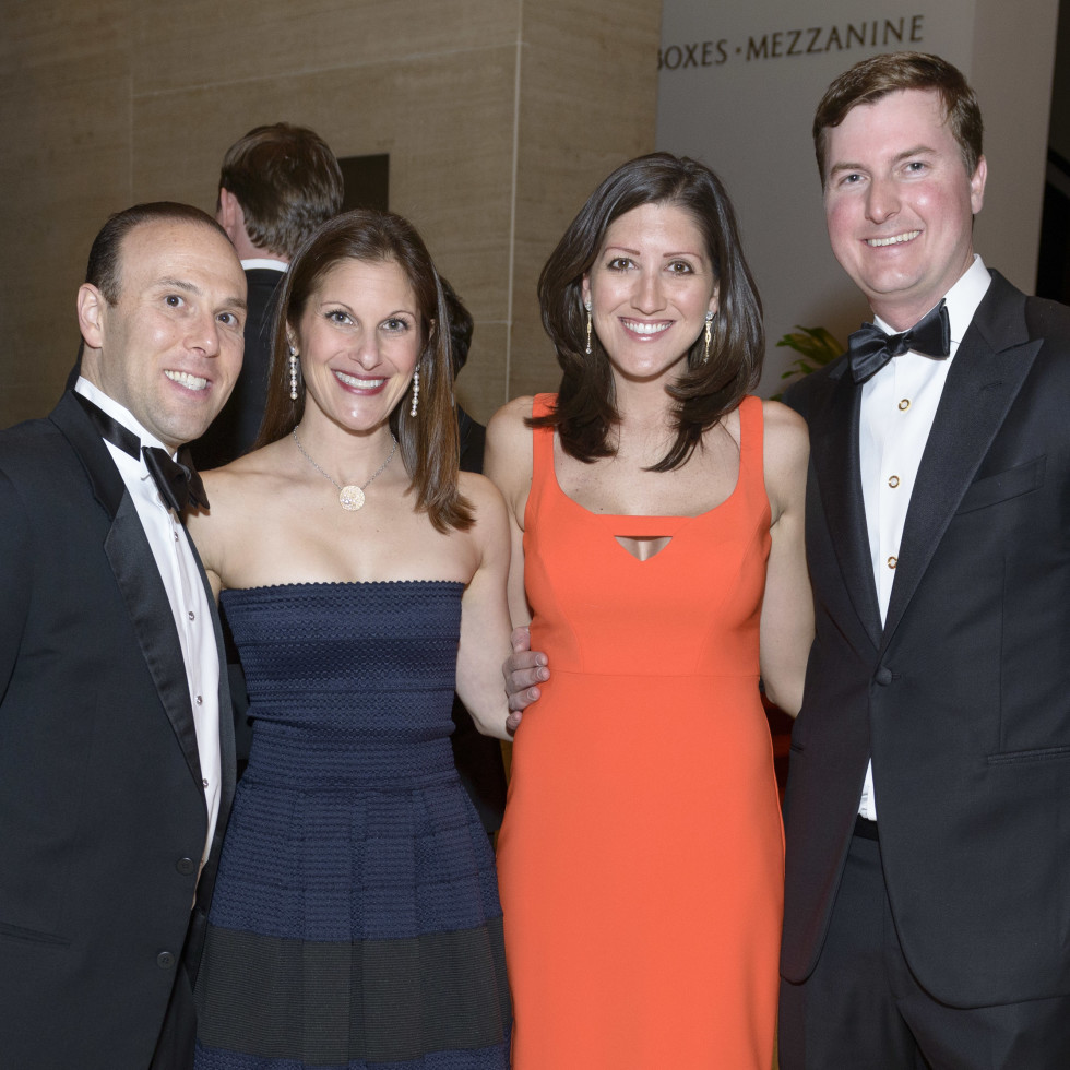 Symphony Wine Dinner, April 2016, Andy Dillon, Leisa Dillon, Caroline Brown, Will Brown
