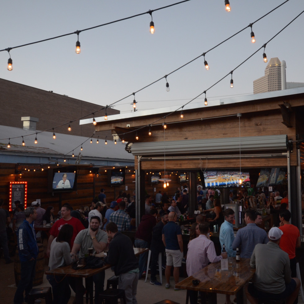 Houston, Irish Cowboy, April 2016, patio