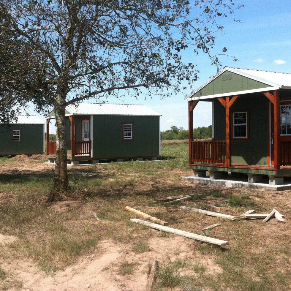 Texas Chain Saw Massacre Gas Station We Slaughter Barbecue restaurant resort cabins