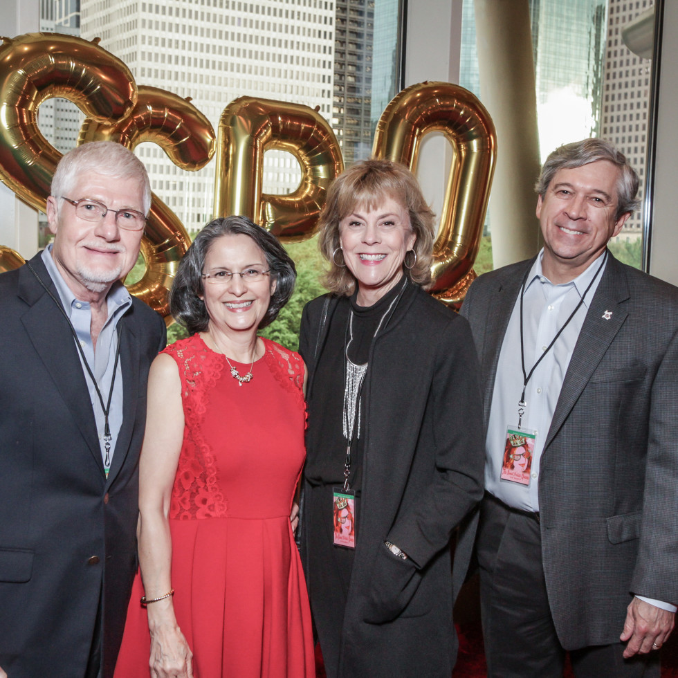 Larry Whaley, Charlotte Whaley, Steve Mechler, Laurie Mechler at Sweet Potato Queens party