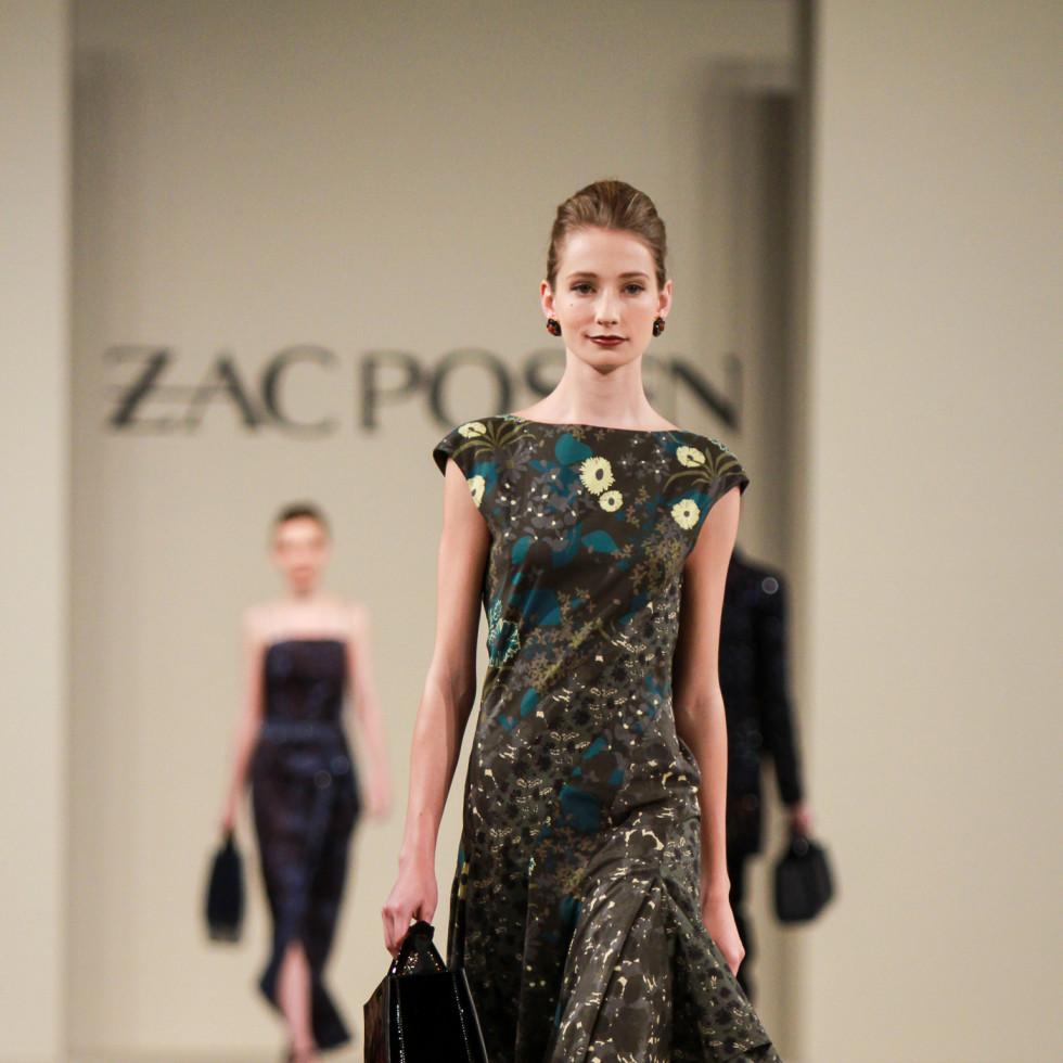 Zac Posen runway show at Best Dressed luncheon