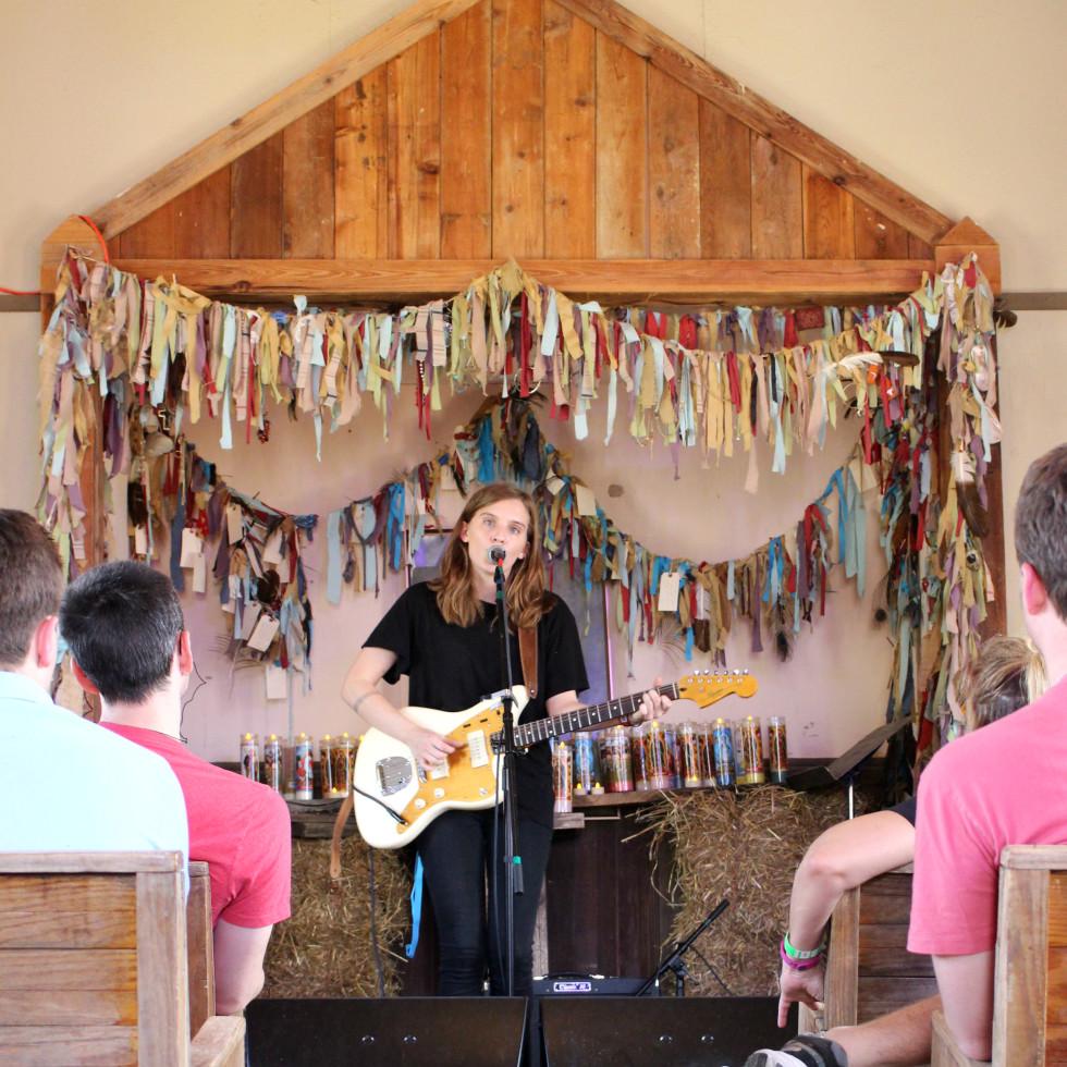 Luck Reunion 2016 Texas church Lilly Meola