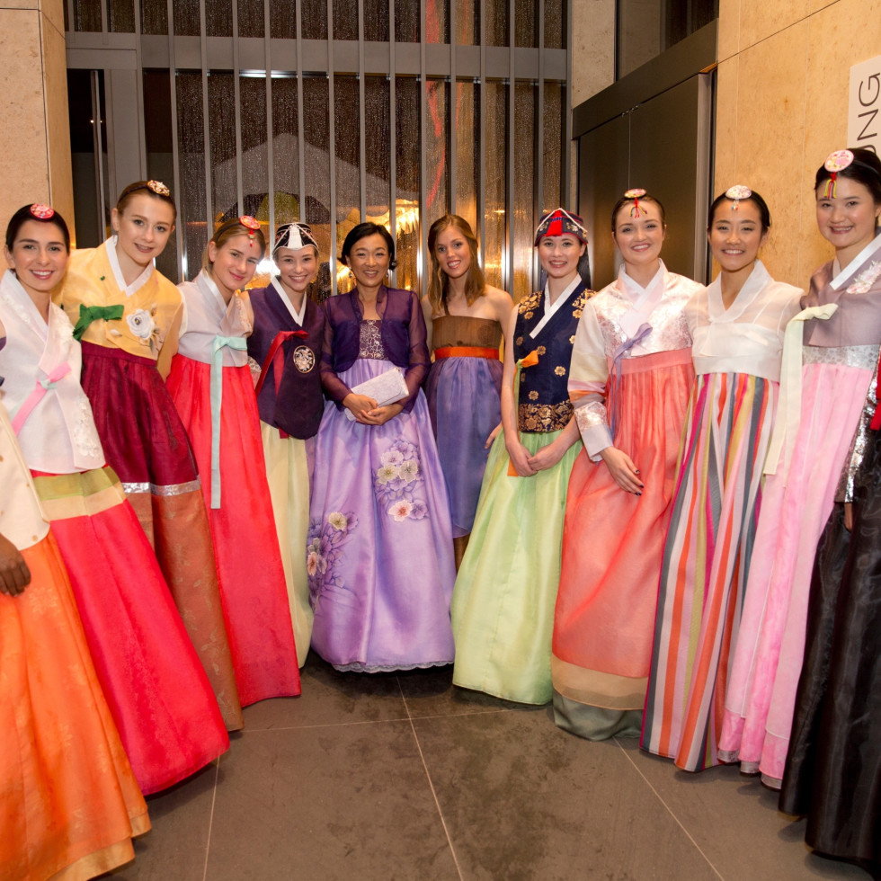 Asia Society Tiger Ball, March 2016, Korean Gowns