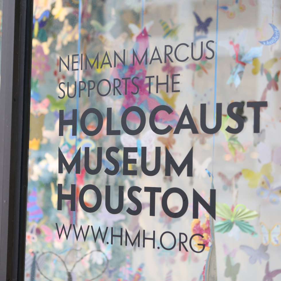 Holocaust Museum Houston Butterfly Project, March 2016, butterflies