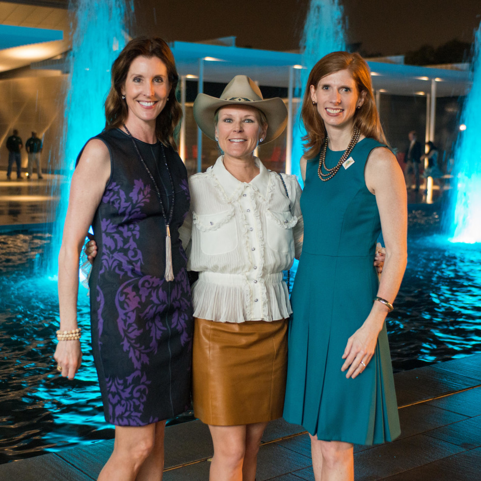 Hermann Park 100th anniversary, March 2016, Phoebe Tudor, Mindy Hildebrand, Lynn Zarr Jr.