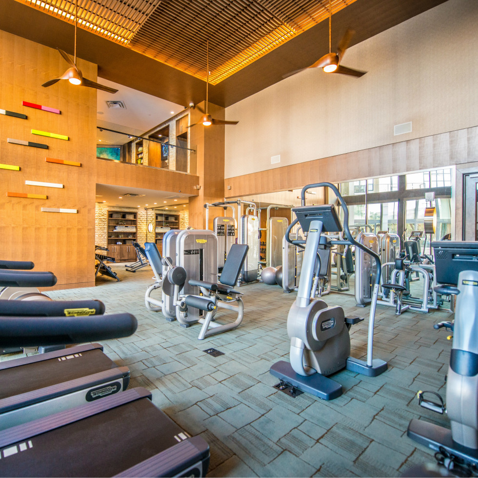Fitness Center at The Taylor in DAllas