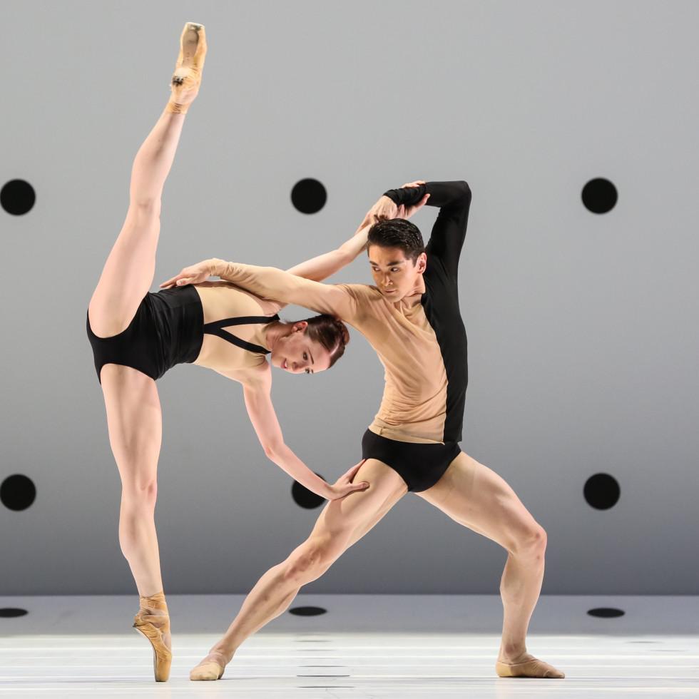 Houston Ballet Dyad, Jessica Collado and Charles-Louis Yoshiyama