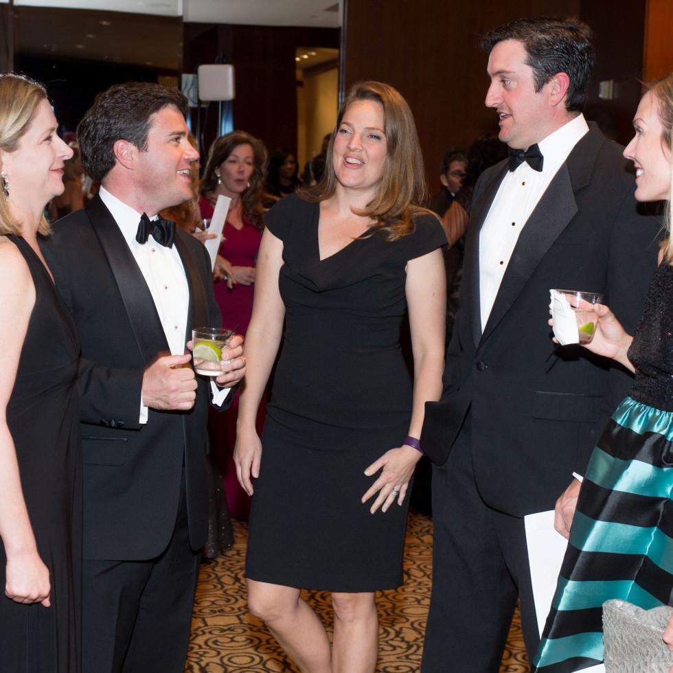 Convenant House Gala, march 2016, 26) Mimi Arnold, Alan Arnold,Dina Taaffe, Ryan Taaffe, Nancy Kate Prescott