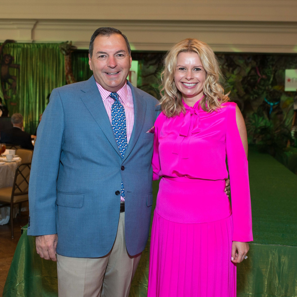 Houston Symphony Children's Fashion Show, March 2016, Tracy Dieterich, Valerie Dieterich
