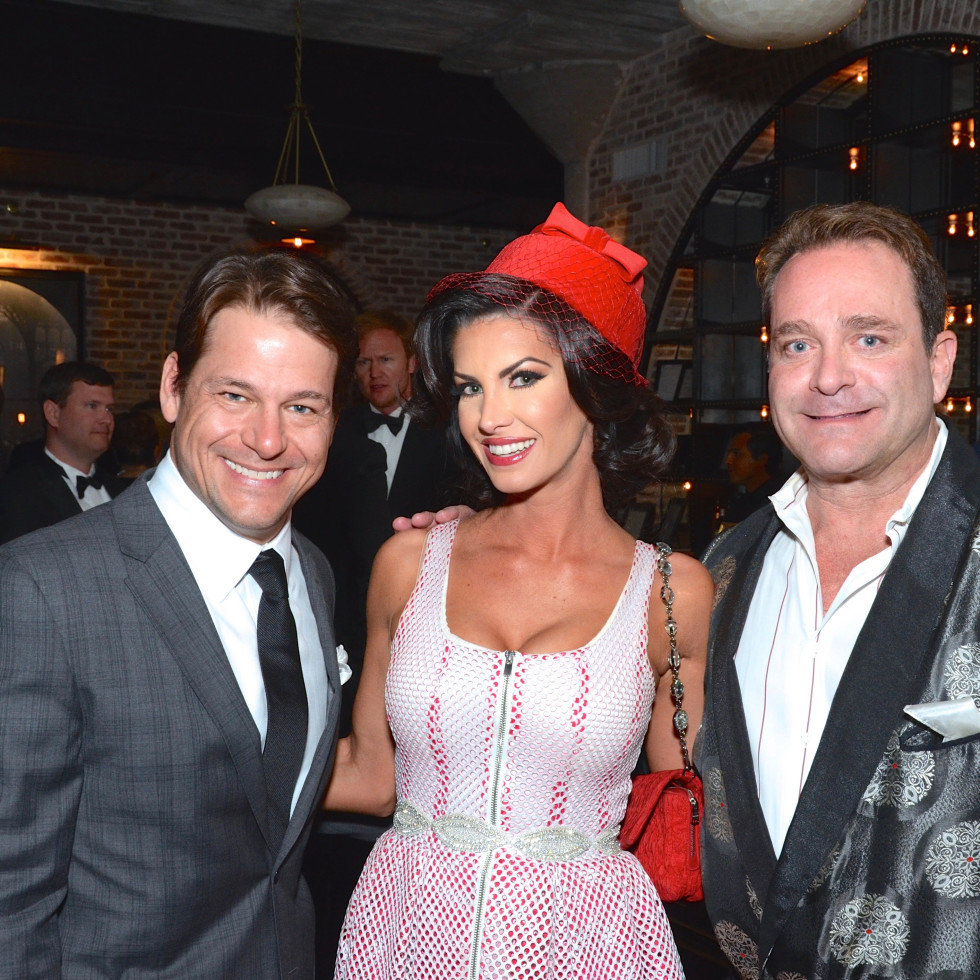 Rocky Mafrige, Auction Co-Chairman Nicole Lassiter, Don Mafrige, Jr. at Stages Gala