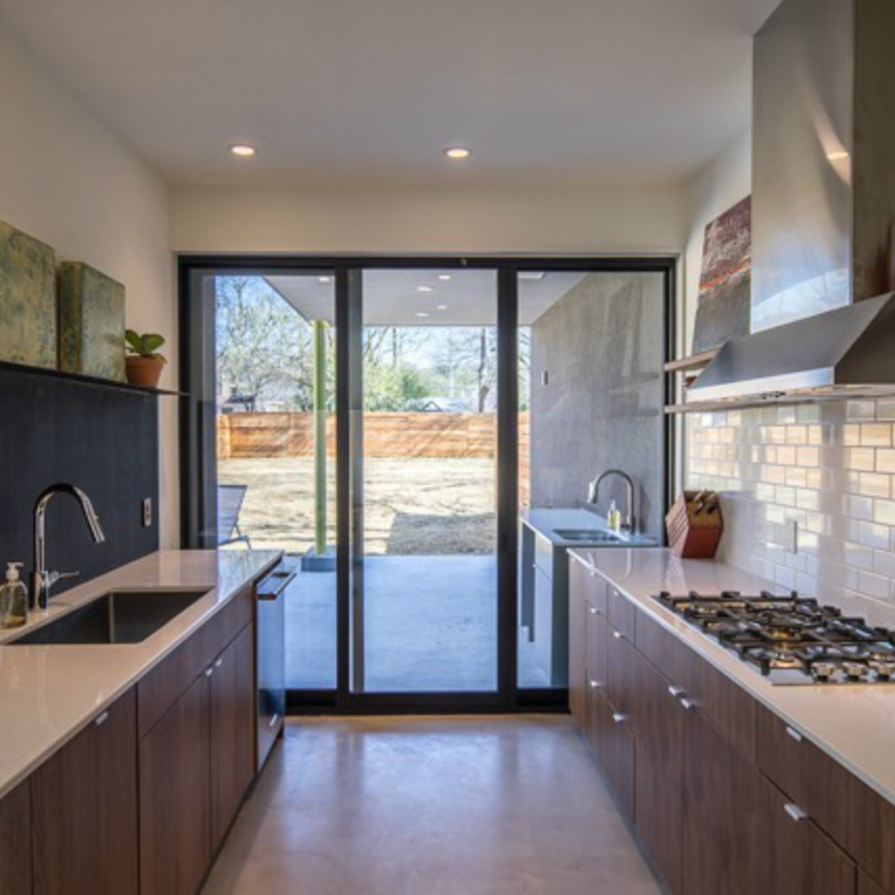 Austin house home dulplex 3305 Garden Villa Lane 78704 March 2016 kitchen