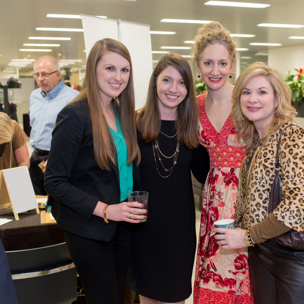 Cattle Baron's Fashion Show, March 2016,  Caitlin Donahoe, Emilie Shields, Aelicia Bayless, D'Lexis Royce
