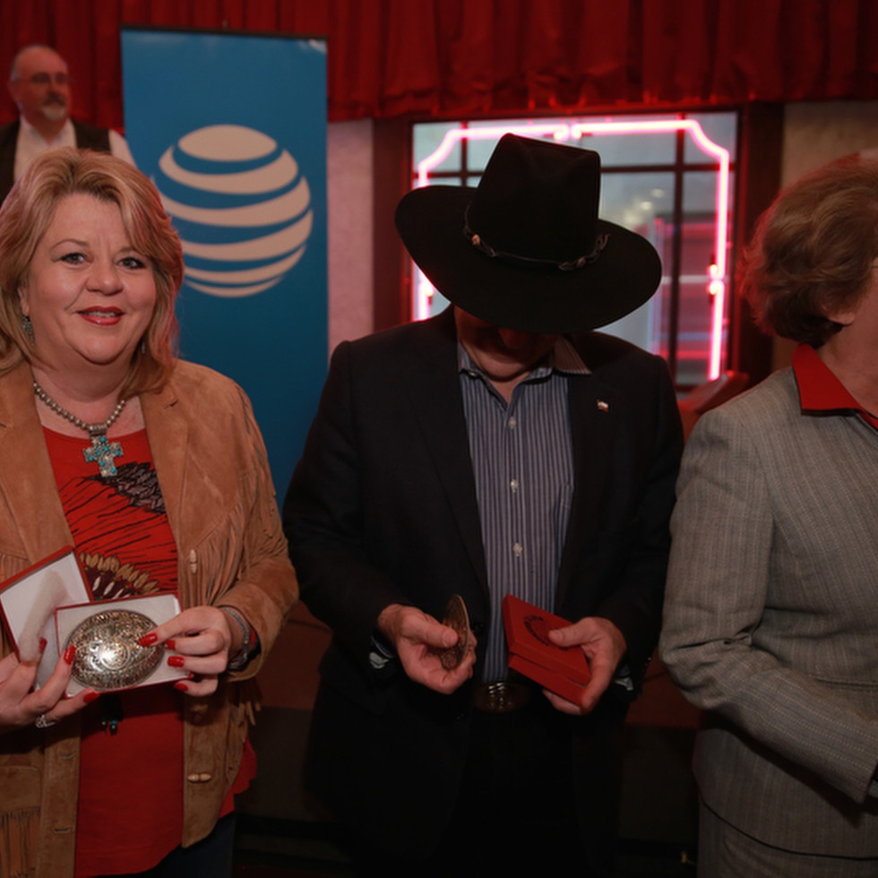 Brenda Stardig at Mayor's Rodeo Houston kickoff breakfast