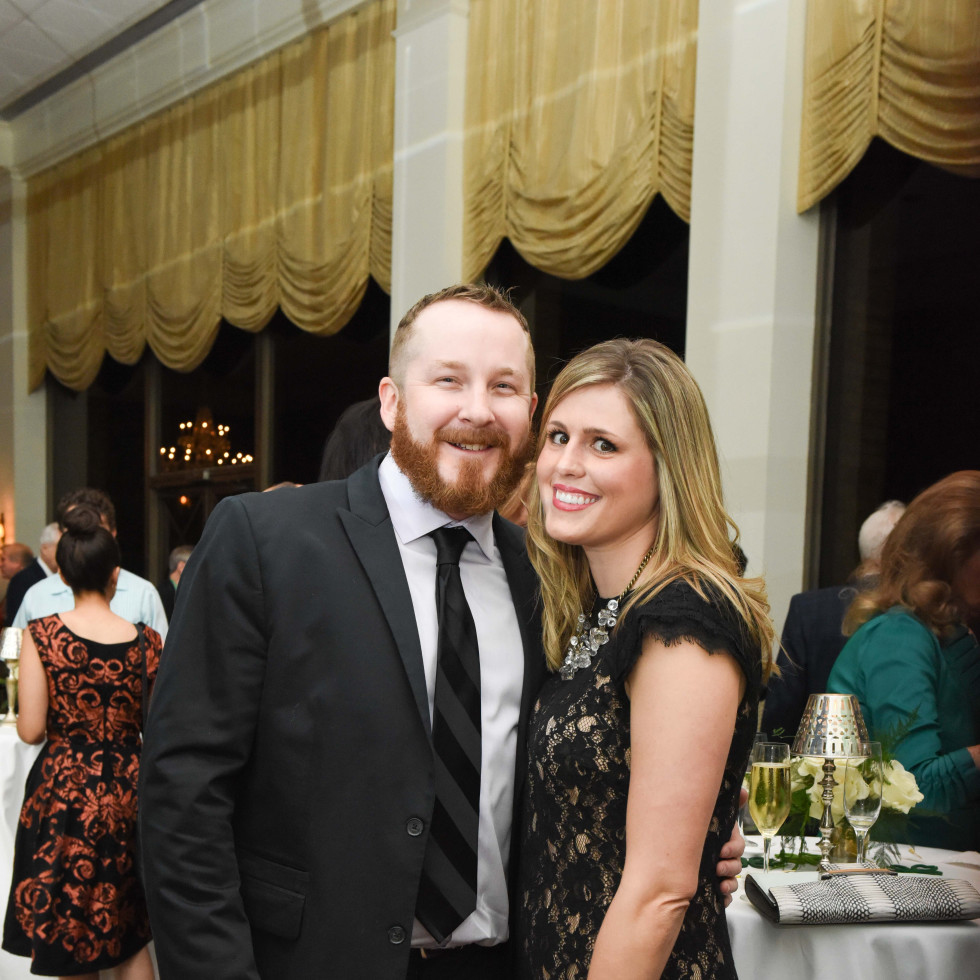 Cornerstone Dinner, Feb. 2016, Jarrod Brannen, Melissa McCurry