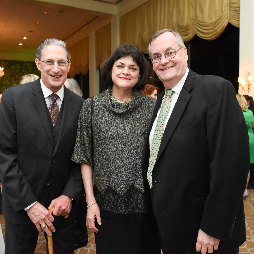 Cornerstone Dinner, Feb. 2016, Jeff Bricker, Cindy Burns, Larry Burns