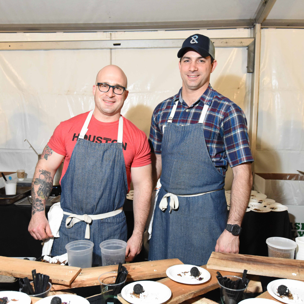 Houston Zoo Ambassadors Gala Seth Siegel Gardner and Terrence Gallivan, Chef-Owners, The Pass & Provisions
