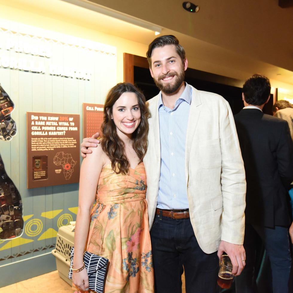 Houston Zoo Ambassadors Gala Alice and Patrick Kerley