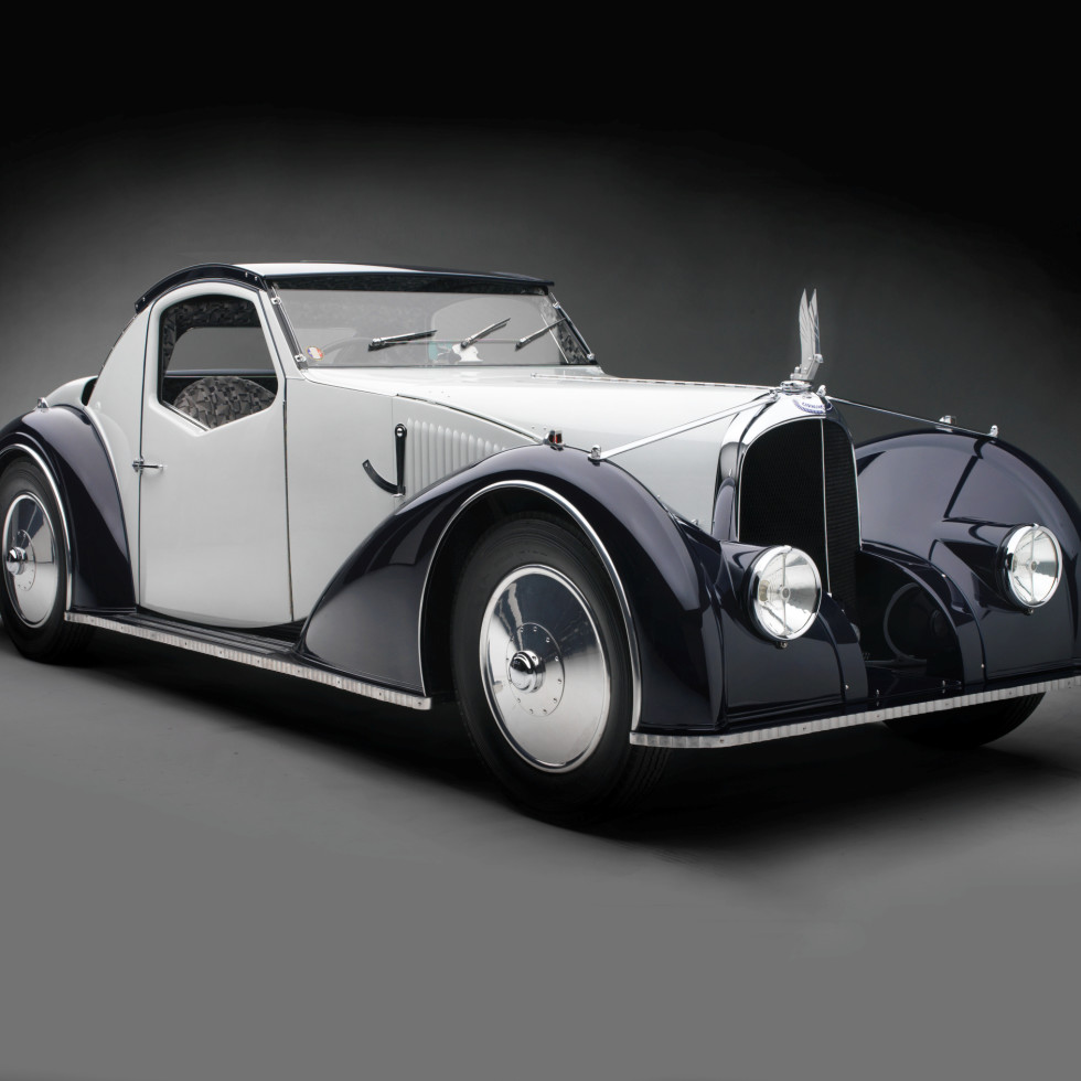 Sculpted in Steel, Type C27 Aérosport Coupe, 1934