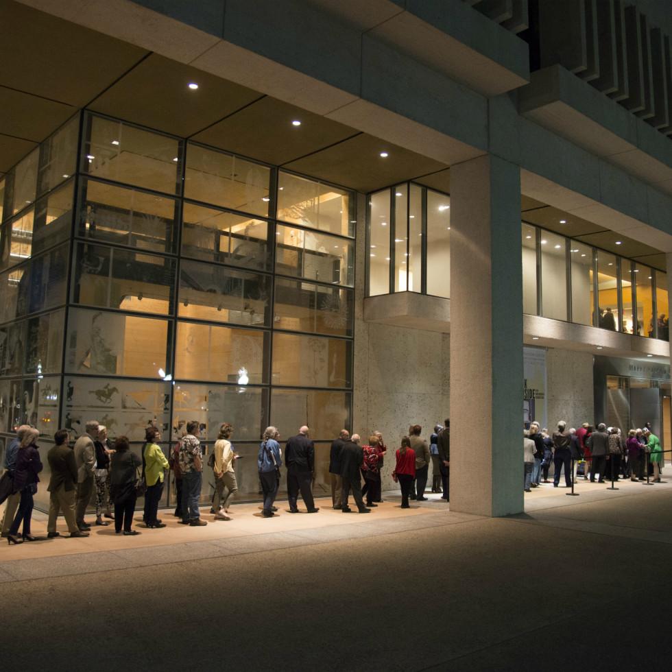 Ampersand Harry Ransom Center spring 2016 exterior line
