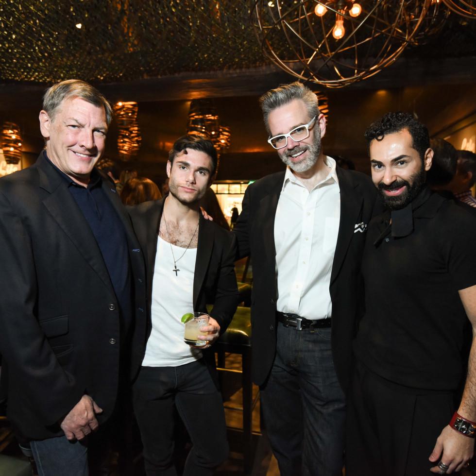 Heart of Fashion at the movies, Feb. 2016,  Neal Hamil, Gabriel Gooley, Michael Pearce, Fady Armanious
