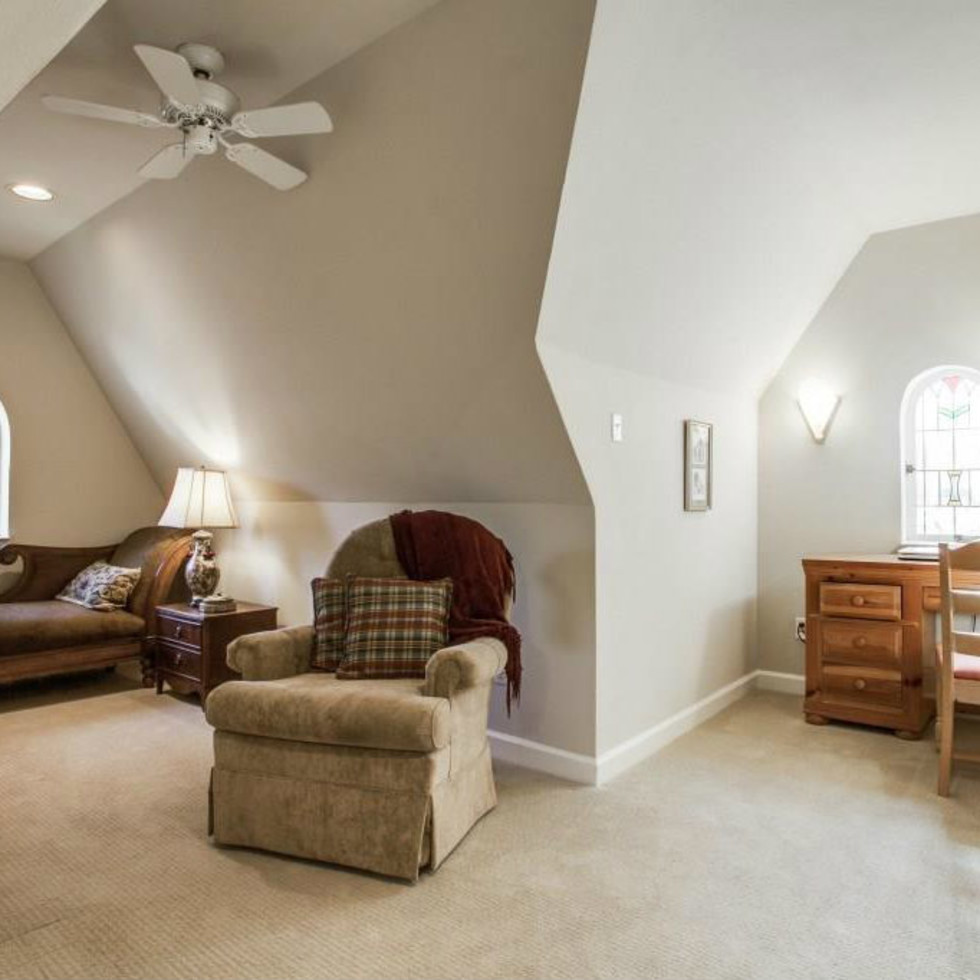 522 Monte Vista attic