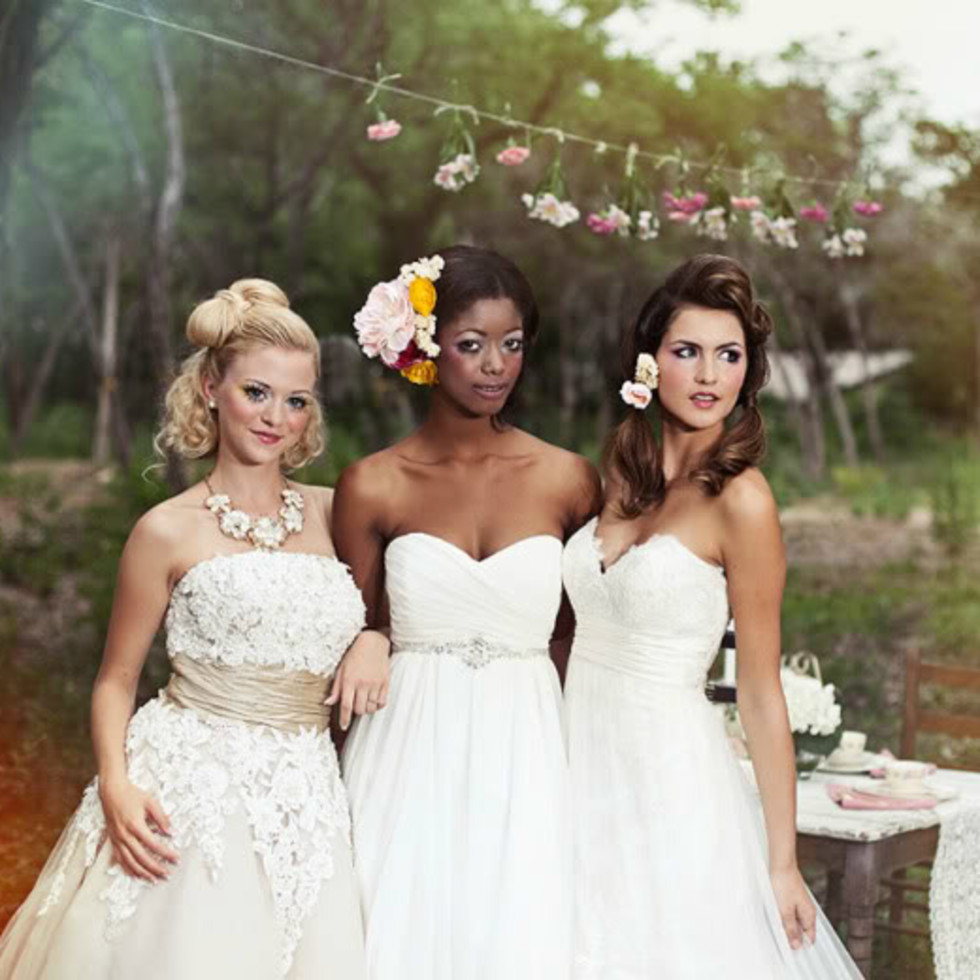 Melange Bridal Salon Austin wedding gowns