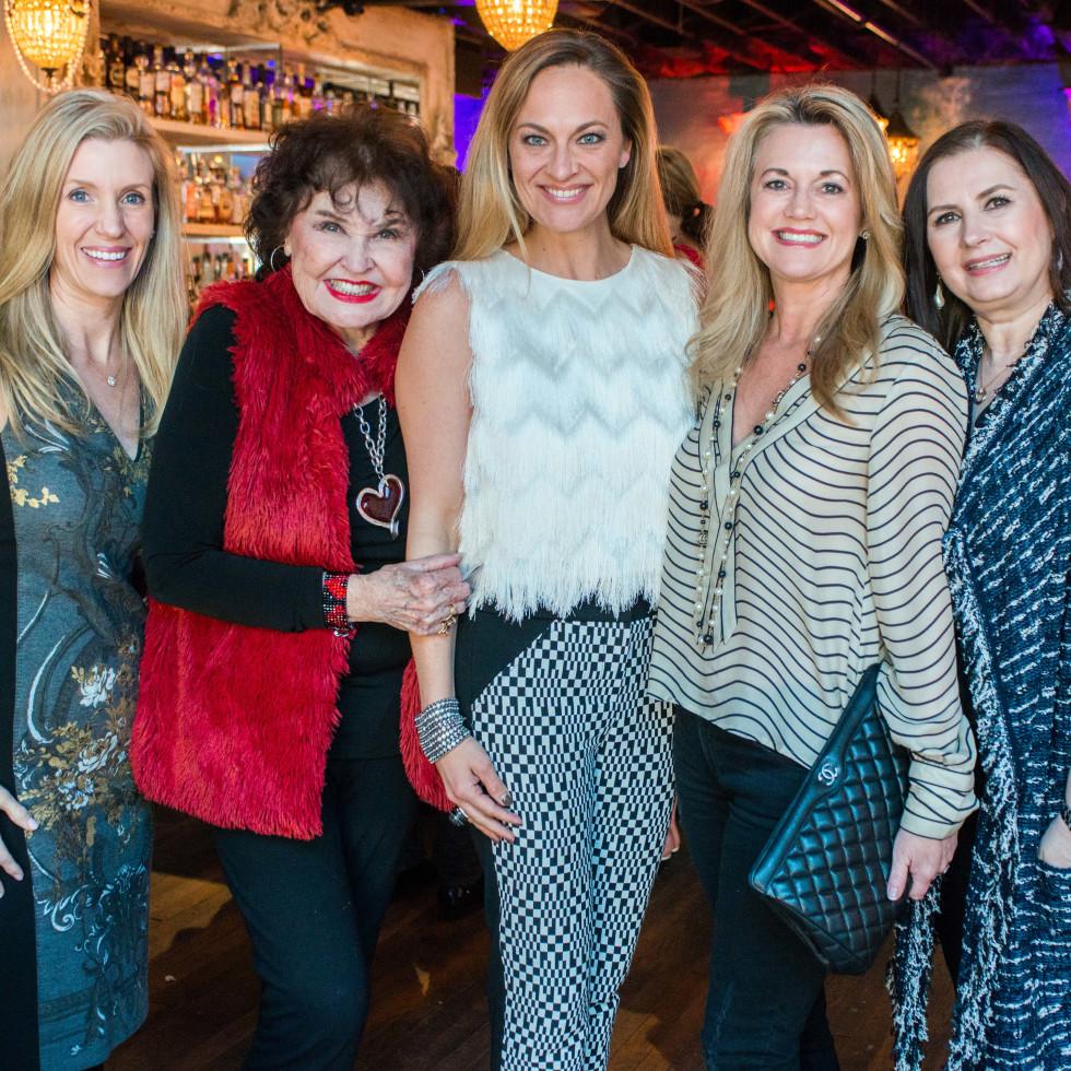 Houston Sweethearts, Feb. 2016, Michelle Smith, Warner Roberts, Rachel Regan, Millette Sherman, Sylvia Forsythe