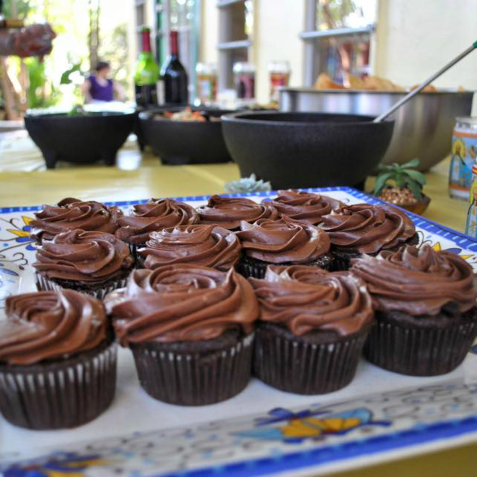 Viva Vegeria vegan chocolate cupcakes