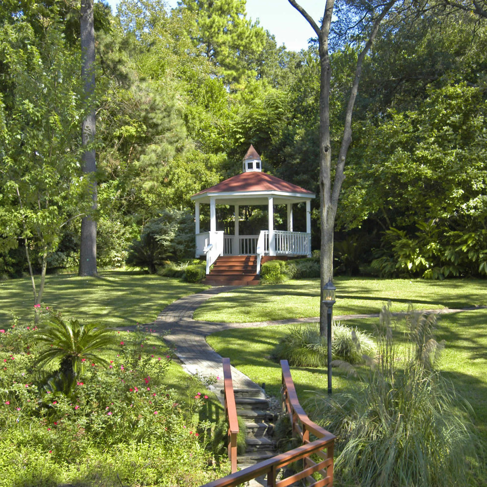 Brenner's on the Bayou gazebo