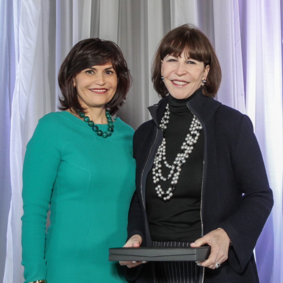 Greater Houston Women's Chamber of Commerce luncheon, Feb. 2016, Denise Castillo-Rhodes, Shelby Hodge