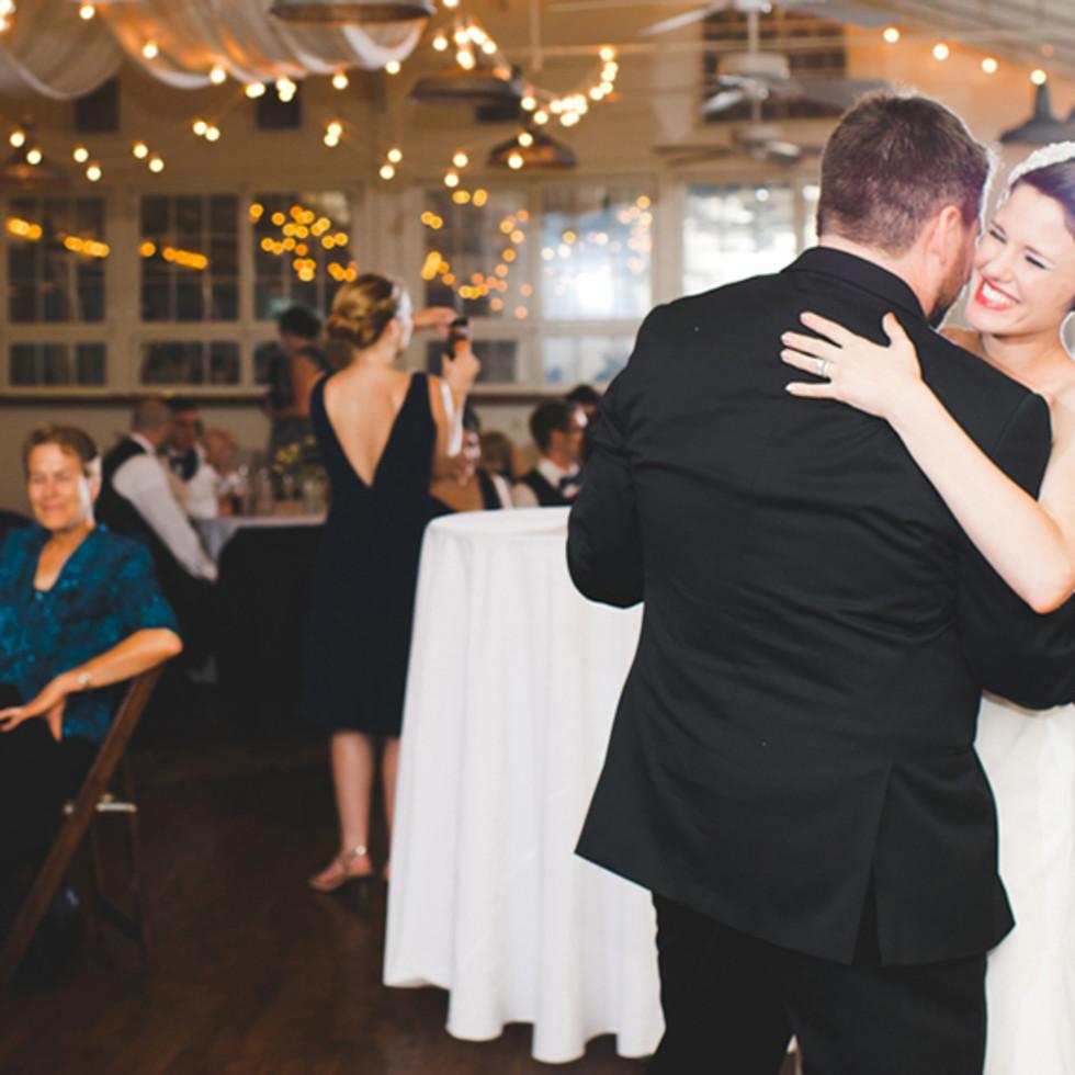 A wedding at Palm Door in Austin