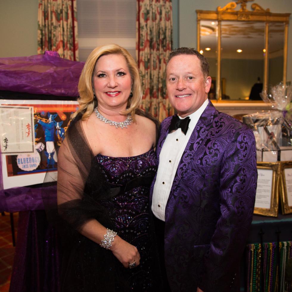 Junior League Gala, Feb. 2016, Jeannie Chandler, Rob Chandler