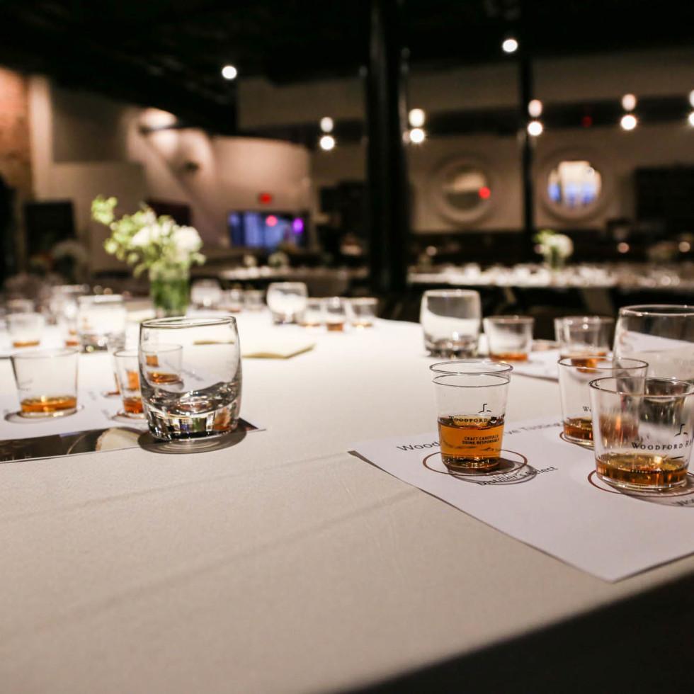 School of Bourbon February 2016 Table Set
