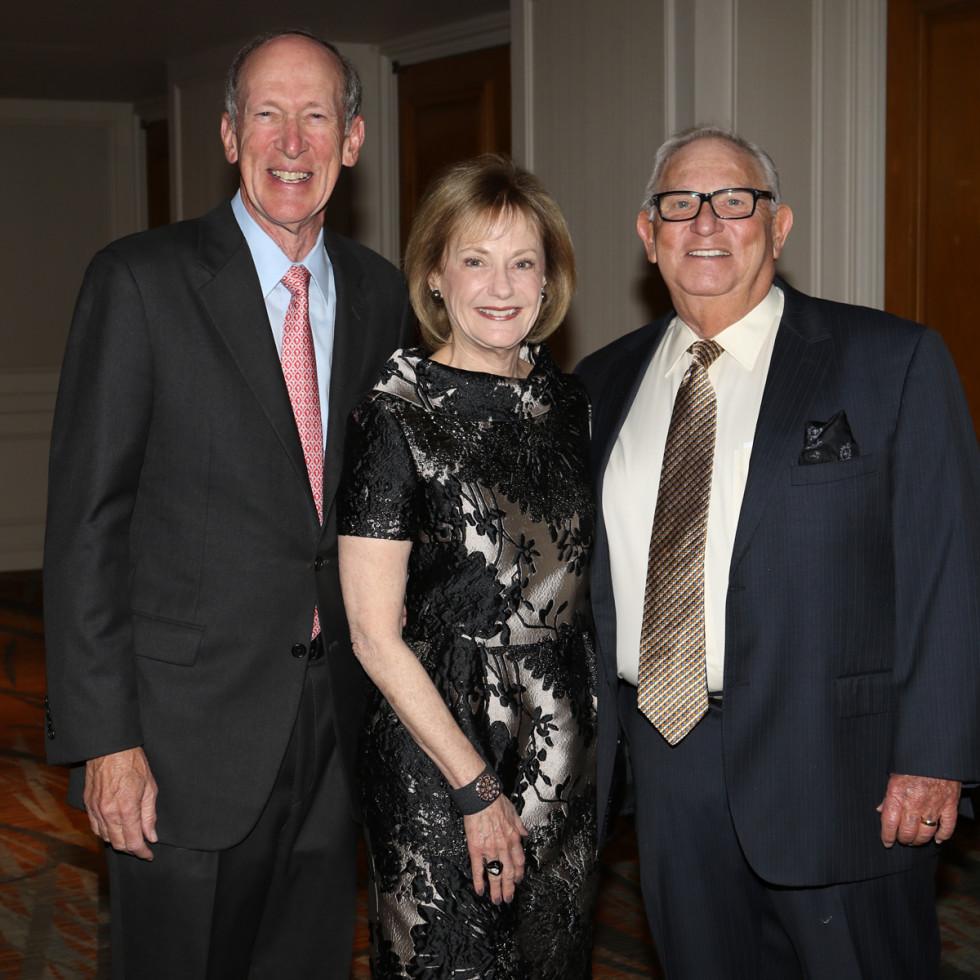 Seven Acres gala, Feb. 2016, Marc Shapiro, Jeri Shapiro, Bruce Stein