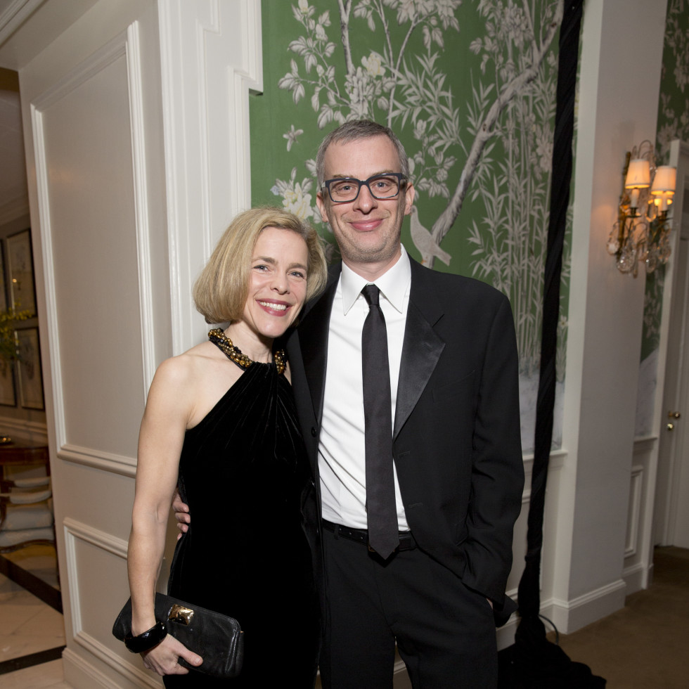 Friends of Fondren Libarary, dinner, Feb. 2016, Alison Weaver, Jeffrey Martin