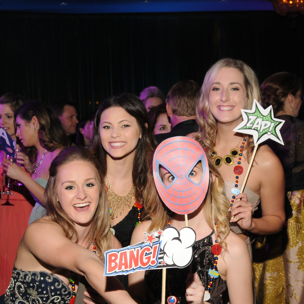 Knights of Momus Ball, Feb. 2016, Alesha Pounds, Paige Fallon, Ashley Jenschue, Kaitlyn Dunahoo
