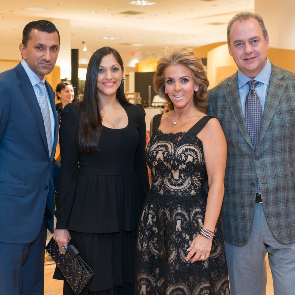 Best Dressed, Jan. 2016, Ajay & Sippi Khurana, Mary Tere & Ricardo Perusquia
