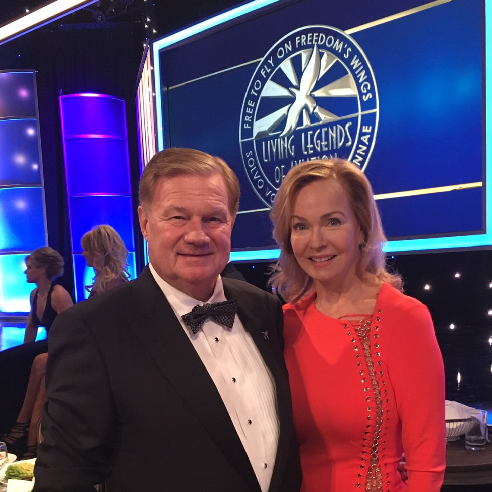 Living Legends of Aviation, Jan. 2016, Alice and Keith Mosing