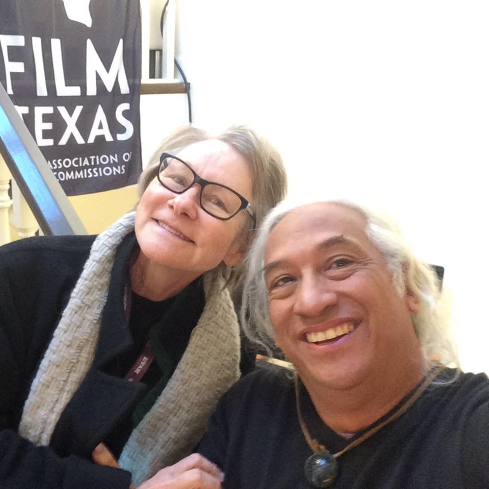 Jane Howze, Ben DeSoto at Texas Film reception at Sundance Film Festival