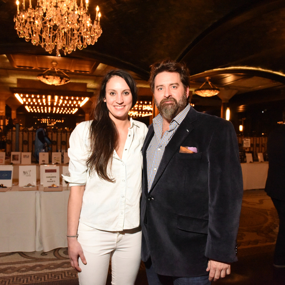 Houston, Truffle Chef Charity Challenge, January 2016, Chef Kate McLean, Tod Eason