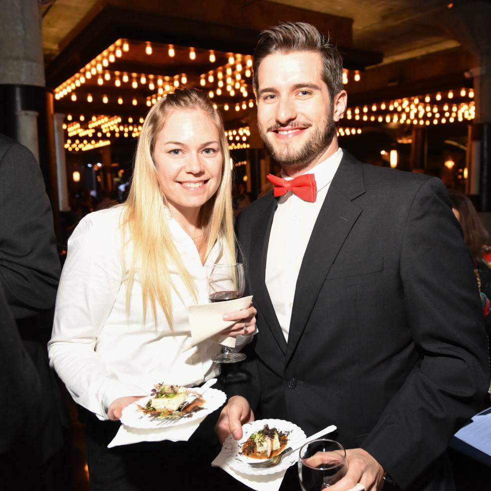 Houston, Truffle Chef Charity Challenge, January 2016, Taylor Mccarra Erika Jenschke