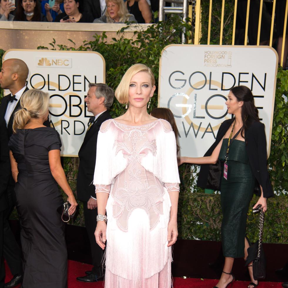 Cate Blanchett at Golden Globe Awards