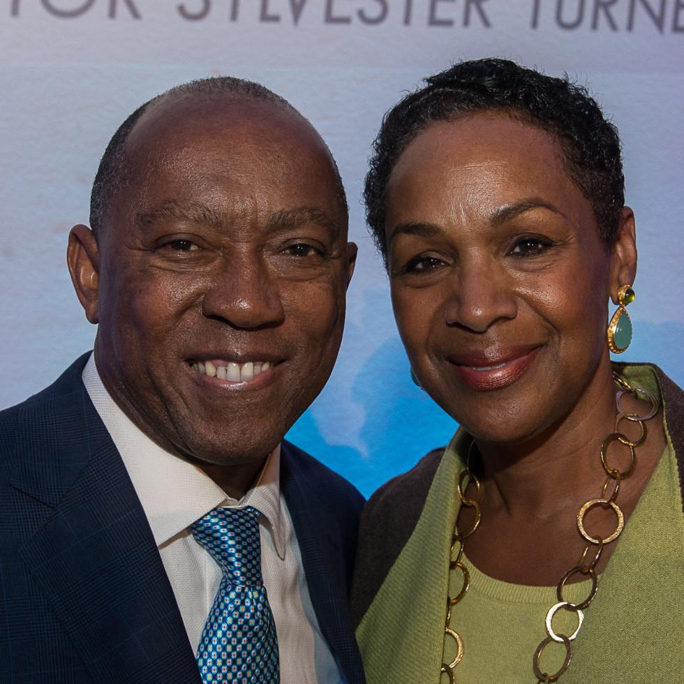 News, Mayor Sylvester Turner Inauguration, Jan. 2016, MFAH, Sylvester Turner, Suzette Caldwell