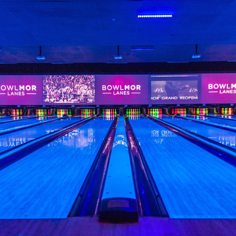 Bowlmor Lanes reopening bowling