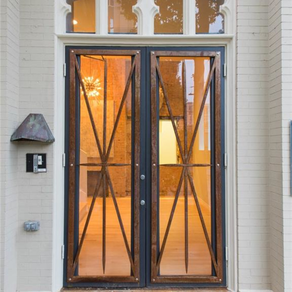 2700 Fairmount St. front doors