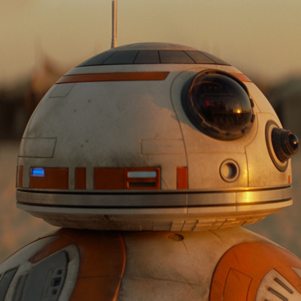 BB-8 in Star Wars: The Force Awakens