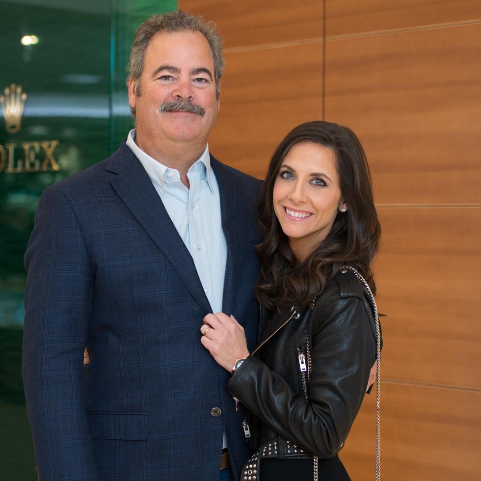 News, IW Marks Rolex Event, Dec. 2015, Cal McNair, Hannah McNair