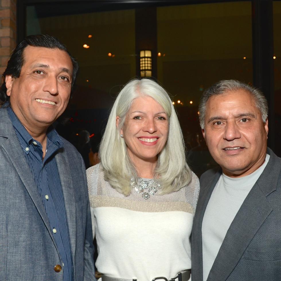 News, Mayor's Hispanic Advisory Board party, Dec. 2015,   Tim Cisneros, Karla Cisneros, Raul Reyes